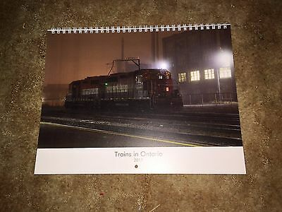 Trains in Ontario 2017 Calendar