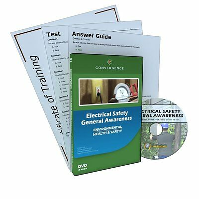 Convergence C-105 Electrical Safety General Awareness Training Program DVD, 18