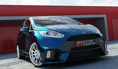 Ford Fiesta MK7 b Facelift 13-  Paraurti Anteriore Tuning Focus RS 2015 Look VTR