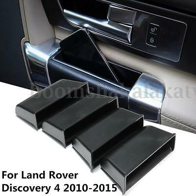 4X Front & Rear Door Storage Box Holder For Land Rover 4 Discovery 4 2010-2015