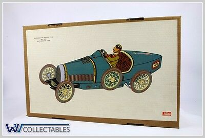 Paya Tin Toy Auto Bugatti 1930 Limited Number. New Old Stock