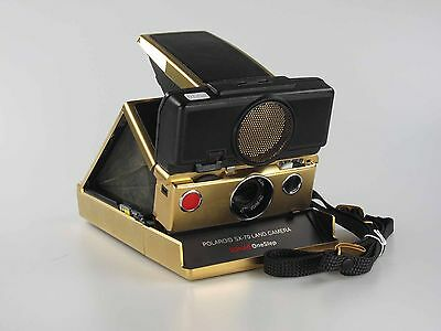 Polaroid SX-70 SONAR OneStep - 24K Gold - Limited Edition    80224