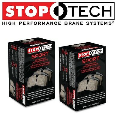 for 95-99 BMW E36 M3 Front /& Rear Set Stoptech Sport Brake Pads