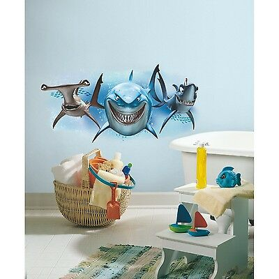 RoomMates Children's Repositonable Disney Wall Stickers Finding Nemo Gian... NEW