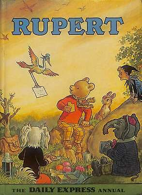 RUPERT 1972 THE DAILY EXPRESS ANNUAL, Alfred Bestall, Good Condition Book, ISBN