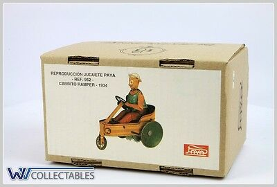 Paya Tin Toy Ref 952 Carrito Ramper 1934 Limited Number. New Old Stock