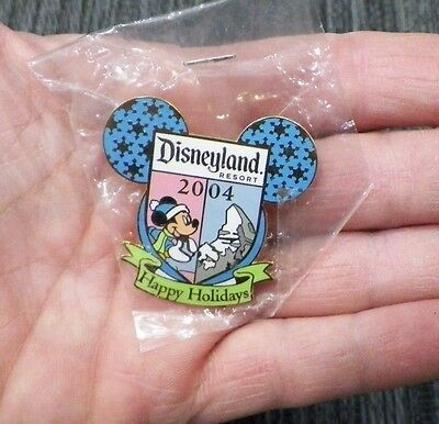 Disney 50Th Disneyland July 4 2005 Cast Exclusive Mickey Ears Trading Pin
