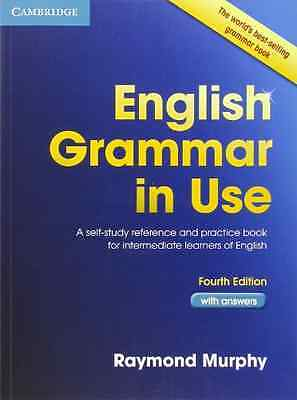 English Grammar in Use with Answers: A Self-Study Refer - Paperback NEW Raymond