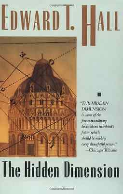 The Hidden Dimension - Paperback NEW Hall, Edward T. 1988-07-01