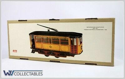 Paya Tin Toy Tranvia Electrico Litografiado 1923 Limited Number. New Old Stock