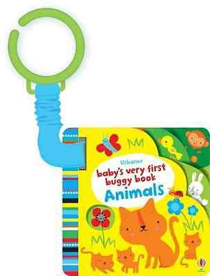 Baby's Very First Buggy Book Animals (Baby's Very First - Board book NEW Fiona W