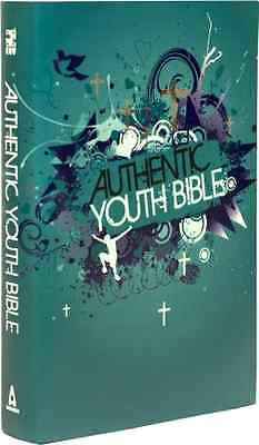 ERV Authentic Youth Bible Teal (Easy Read Version) (Bib - Hardcover NEW Authenti