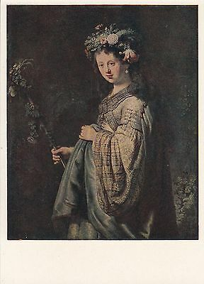 Post Card - Rembrandt / painting (1)