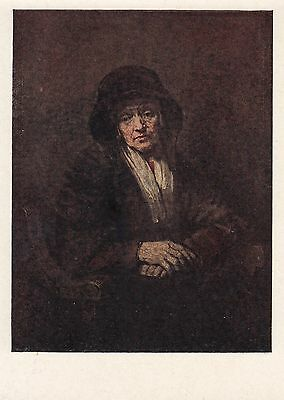 Post Card - Rembrandt / painting (4)