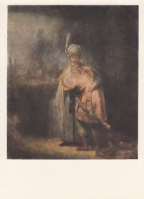 Post Card - Rembrandt / painting (5)