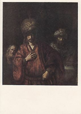 Post Card - Rembrandt / painting (6)