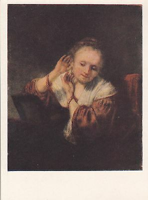 Post Card - Rembrandt / painting (8)
