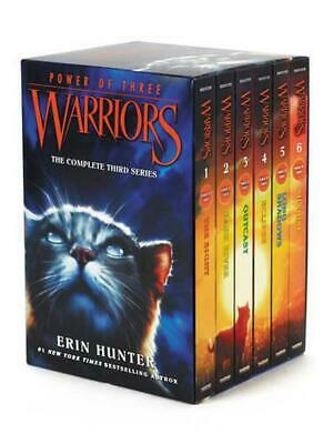 Warriors: Power of Three Box Set: Volumes 1 to 6 by Erin Hunter (English) Paperb