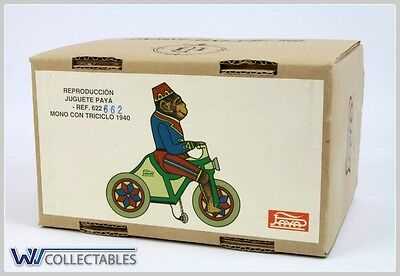 Paya Tin Toy Ref 622 Mono Con Triciclo 1940 Limited Number. New Old Stock