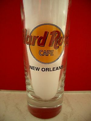 HRC Hard Rock Cafe New Orleans Classic Logo Black Letter Shot Glass Schnapsglas