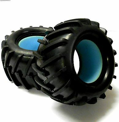 83004 1/8 Scale Off Road RC Monster Truck Tyres x 2