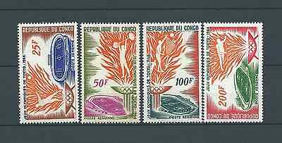 CONGO - 1964 YT 21 à 24 - POSTE AERIENNE - TIMBRES NEUFS** LUXE