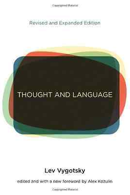 Thought and Language - Paperback NEW Lev S. Vygotsky 2012-08-03