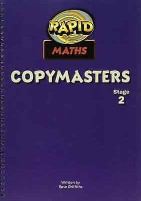Rapid Maths: Stage 2 Pcm'S - Spiral-bound NEW