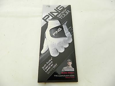 New 6 pack of Ping Sensor Tour Leather Golf Glove Choose your Size and RH/LH