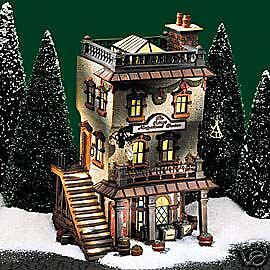 Dept 56  Charles Dickens  Leed's Oyster House