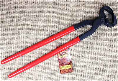 Hilason Western Horse Hoof Nippers With Red Pvc Covered Handle