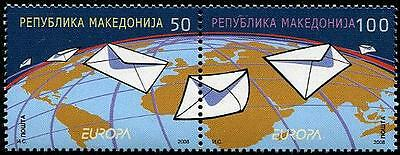 MACEDONIA Sc.# 434 Europa 2008 The Letter Stamp