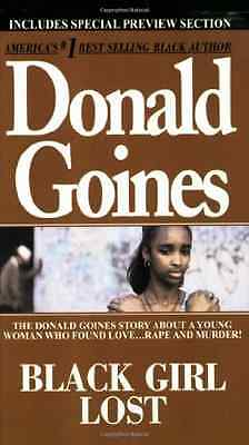 Black Girl Lost - Mass Market Paperback NEW Goines, Donald 2007-02-15