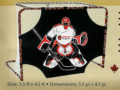 """*NEW* 1 mm Thick STEEL Hockey Goal DR A.L.21-48/"""" x 72/"""""""