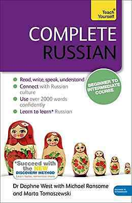 Complete Russian Beginner to Intermediate Course: (Book - Dr Daphne West  NEW Pa
