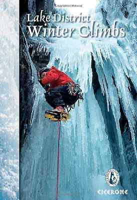 Lake District Winter Climbs: Snow, Ice and Mixed Climbs - Paperback NEW Davison,