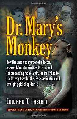 DR MARYS MONKEY - Hardcover NEW EDWARD T HASLAM 2014-09-01