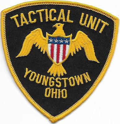 SWAT  OHIO Youngstown  TACTICAL Unit  Police Patch  SEK Polizei Abzeichen