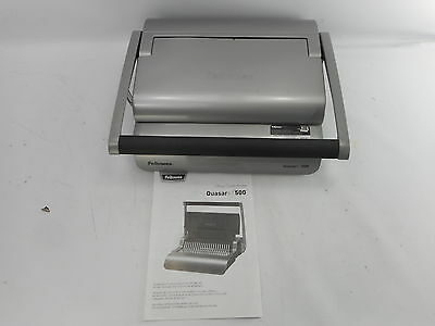 Fellowes 5227201 - Binding Machine - Quasar Comb Binding