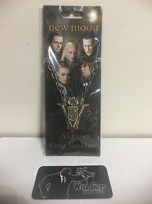Twilight New Moon Volturi Crest Necklace Prop Replica Jewelry NECA Limited