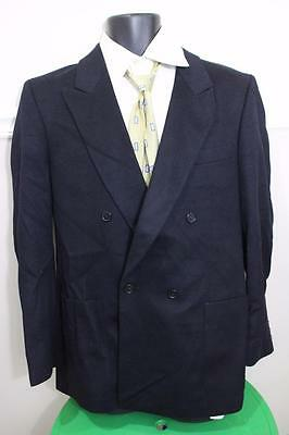 e557d3c96 GUY LAROCHE MONSIEUR Men's Black 100% Cashmere Blazer Jacket Size 50 ...