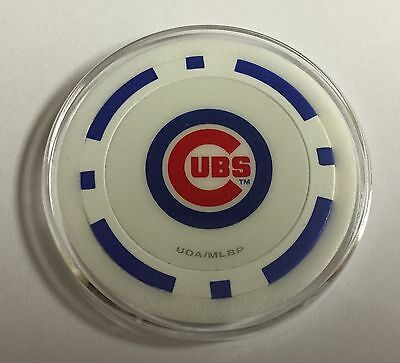 Chicago Cubs Blue Chip Poker Card Guard Casino MLB Baseball Wrigley Field
