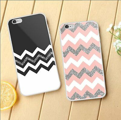 Vintage Elegant Wave Pattern Phone Case Slim TPU Cover Shell for iPhone 7 7 Plus