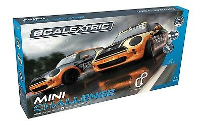 Scalextric C1355 Mini Challenge Race Set 1:32 Scale New Sealed