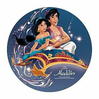 Various - Aladdin (Songs From the Motion Picture) [New Vinyl] Ltd Ed, Picture Di