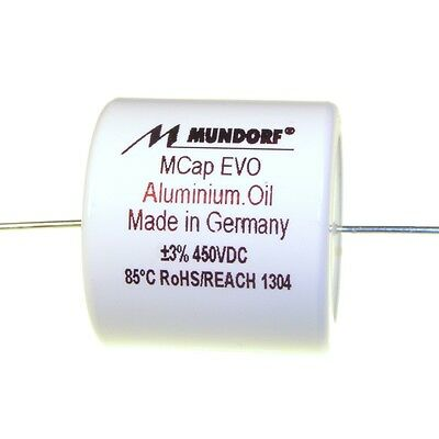 Mundorf MCap EVO Oil Öl 15uF 450V High End Audio Kondensator capacitor 853827