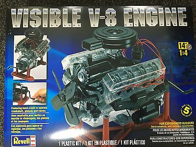 +++ Revell US Monogram 1/4 Visible V-8 Engine 85-8883 8883