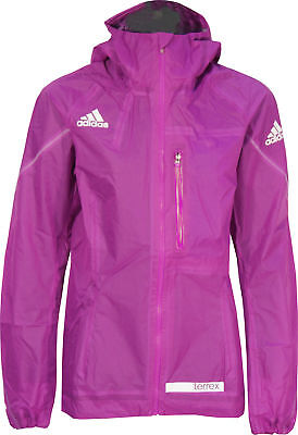 adidas Terrex Agravic Ladies 3-Layer Hooded Jacket - Purple