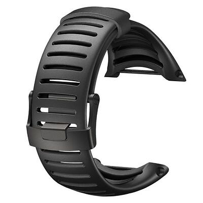 Suunto Core Black Light Elastomer Replacement Sports Watch Strap