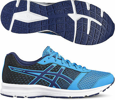 Asics Gel Patriot 8 Mens Running Shoes - Blue